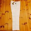 【最近買ったパンツ】INCOTEX SLACKSの白いパンツが自分をオシャレに見せてくれる気がする。