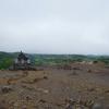 十勝岳の奇妙な景色
