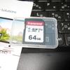 トランセンドの64GB SDXCカードを1,200円で買いました