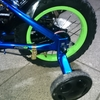 爺ちゃんサンタは甥っ子に自転車をプレゼントしたよ
