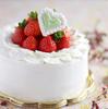 ホワイトデーのフリフリ生デコ(練乳入りクリーム)