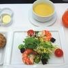 ANAビジネスクラス ウィーン~羽田 206便 機内食