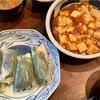 麻婆豆腐・梅風味生春巻き