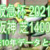 【阪急杯 2021】過去10年データと予想