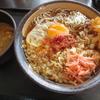 木更津 ゆで太郎 朝蕎麦(玉子)+カレーの日