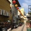 台南 天壇老街の道