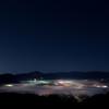 秩父盆地にて雲海を撮影