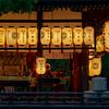 京都・洛中 - 鳶尾咲く御靈神社
