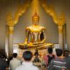タイ王国に住む①旅の始まり。黄金の仏像とワットポーへ