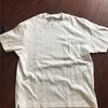 夏に向けてまたTシャツ  ユニクロ|ビッグシルエットポケ付きT(白)