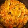 塩麹でサンバルマサラ風