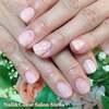 重ね塗りでオリジナリティを♡微粒子ラメ入りピンクのワンカラーネイル☆ジェル
