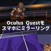 Oculus Questはスマホにミラーリングして友達と一緒に楽しもう