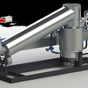 大型機の最新技術を採用した実用的本格派の革新的な小型バイオマス・ガス化発電装置例です(1)!!!
