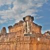 「東メボン(East Mebon)」~干上がった池の上にあるピラミッド型寺院!!