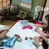 レッスンレポート)6/23五日市教室 各々編みたいものを編む教室です