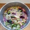 鶏と野菜のあん煮