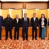 南太平洋島諸国の駐日大使と懇親会