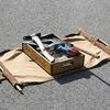 トートバッグ風取っ手付き工具箱 作り方1