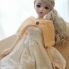 60センチ球体関節人形初めて作った想い出のワンピース