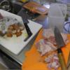 幸運な病のレシピ( 1962 )夜:里芋・鳥モモの味噌煮、しゃぶしゃぶ汁