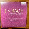 バッハ全集 全部聞いたらバッハ通 CD24 BWV. 858-869  平均律クラビーア曲集