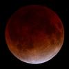 皆既月食「赤い月」