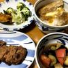 産直市のおかげで少ない予算で豪華な夕食となりました