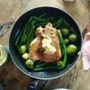 鶏腿焼&姜葱醤【飲食】【レシピ】【業務スーパー】