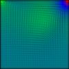 【差分法】HSMAC法で3次精度風上差分を用いてNavier-Stokes方程式を解きました C++コード付き