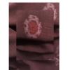 着物生地(341)変わり雪の輪織り出し手織り真綿小千谷紬