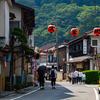 山への信仰文化が色濃く残る宿場町、洞川温泉。