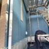 外壁塗装工事、進行中