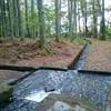 三分一湧水に行き、昔からの水の利権について考えました。
