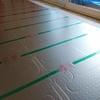 床暖房施工と断熱工事の続き