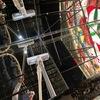 スフィア 彫刻鏡の部屋の掃除