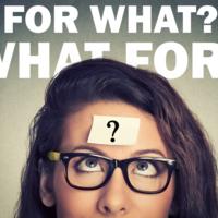 「For what?」と「What for?」の違いは? 使い分けの方法とは