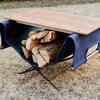 男前な焚き火にはオシャレで便利なサイドテーブルを!使ってみて見つけた便利な使い方!