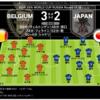 ロシアワールドカップ 日本 v.s. ベルギー マッチレビュー