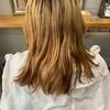 髪に優しい【ケアブリーチ】を使ったハイトーンデザインカラー【クリアなバイオレット】