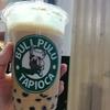 新宿歌舞伎町にできた「BullPull」で黒糖タピオカミルクティーを飲んできました。
