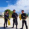 ♪目指せ、オープンウォーターダイバー!仲良し男3人パーティ♪〜沖縄ダイビングライセンス〜