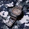 US NAVY NWU BLUE CAMO PARKA SMALL-LONG & G-SHOCK GMW-B5000TCF-2 / アメリカ軍 USN ブルーベリー デジタルカモ パーカー