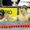 瀬戸が0秒01差で初優勝 萩野6連覇ならず 競泳