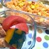 ヨメさん弁当〜チキンライス・かぼちゃの煮物〜