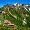 夏の北アルプス五竜岳・唐松岳を縦走してきた【1日目・灼熱の遠見尾根から五竜岳へ】