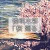 【透明水彩】「桜廻る」