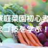 家庭菜園初心者、『達人のスゴ技100野菜作り』から学ぶ。