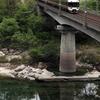 坂下のコンクリート橋にて またまた中央西線へ その4