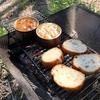 アヒージョでいちばん美味しい具材はサバの味噌煮!キャンプで作ってみた